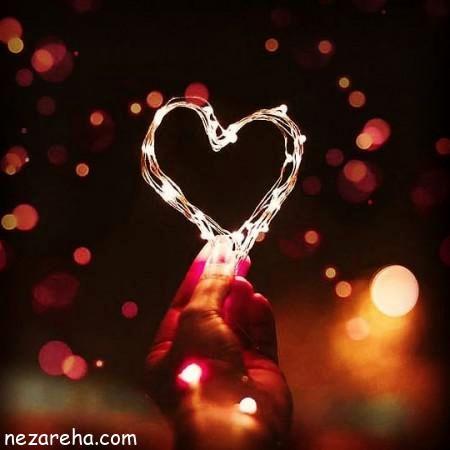 عكس پروفايل عاشقانه؛قلب مايع