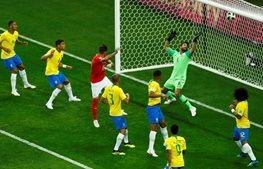 برزیل یک - سوئیس یک / شگفتی بعدی جام بیستویک در دامان سلسائو