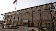آژیر هشدار در سفارت آمریکا پس از انفجار قوی دو راکت