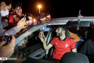 بازگشت پرسپولیس به ایران