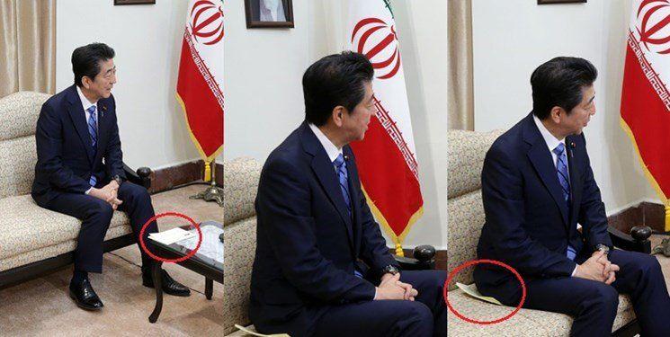 روایت تصویری از سرنوشت پیامی که آبه شینزو از ترامپ به ایران آورد/یک پاکت نامه پرحاشیه