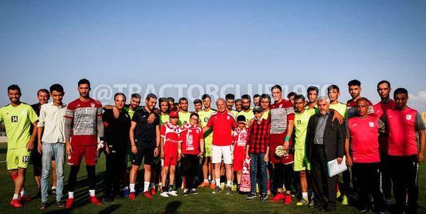 جشن پیراهن و طرح جدید لوگو و نهایی شدن دو ورزشگاه تراکتور برگزار می شود