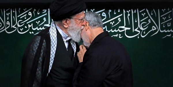 رهبر انقلاب عبای نماز شب خود را برای دفن سردار سپهبد سلیمانی فرستادند