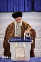 رای رهبر معظم انقلاب در انتخابات