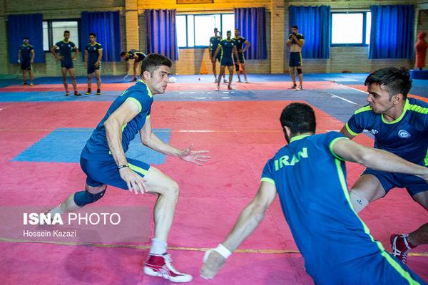 پیروزی یک طرفه تیم ملی کبدی مردان ایران مقابل ژاپن