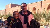 ماجرای همسر آمریکایی لاله صبوری جنجال به پا کرد +فیلم مصاحبه با لاله صبوری