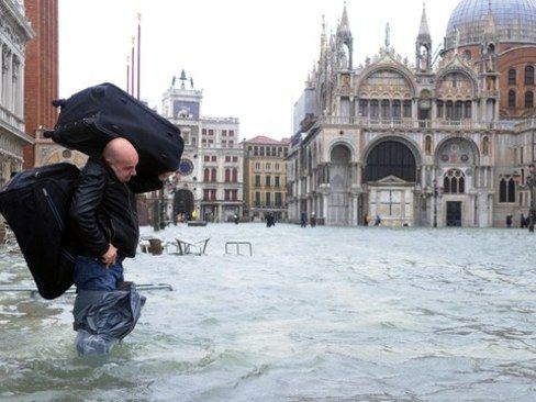گزارش تصویری/ ونیز زیبا در حال غرق شدن