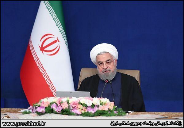روحانی: شنبه و یکشنبه آینده روز پیروزی ملت ایران است
