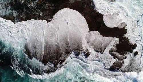 عکسهای هوایی بینظیر از کرانه دریا
