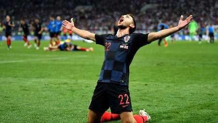 در ادامه بلند پروازی های تیم دالیچ/ کرواسی برای نخستین بار فینالیست جام جهانی شد