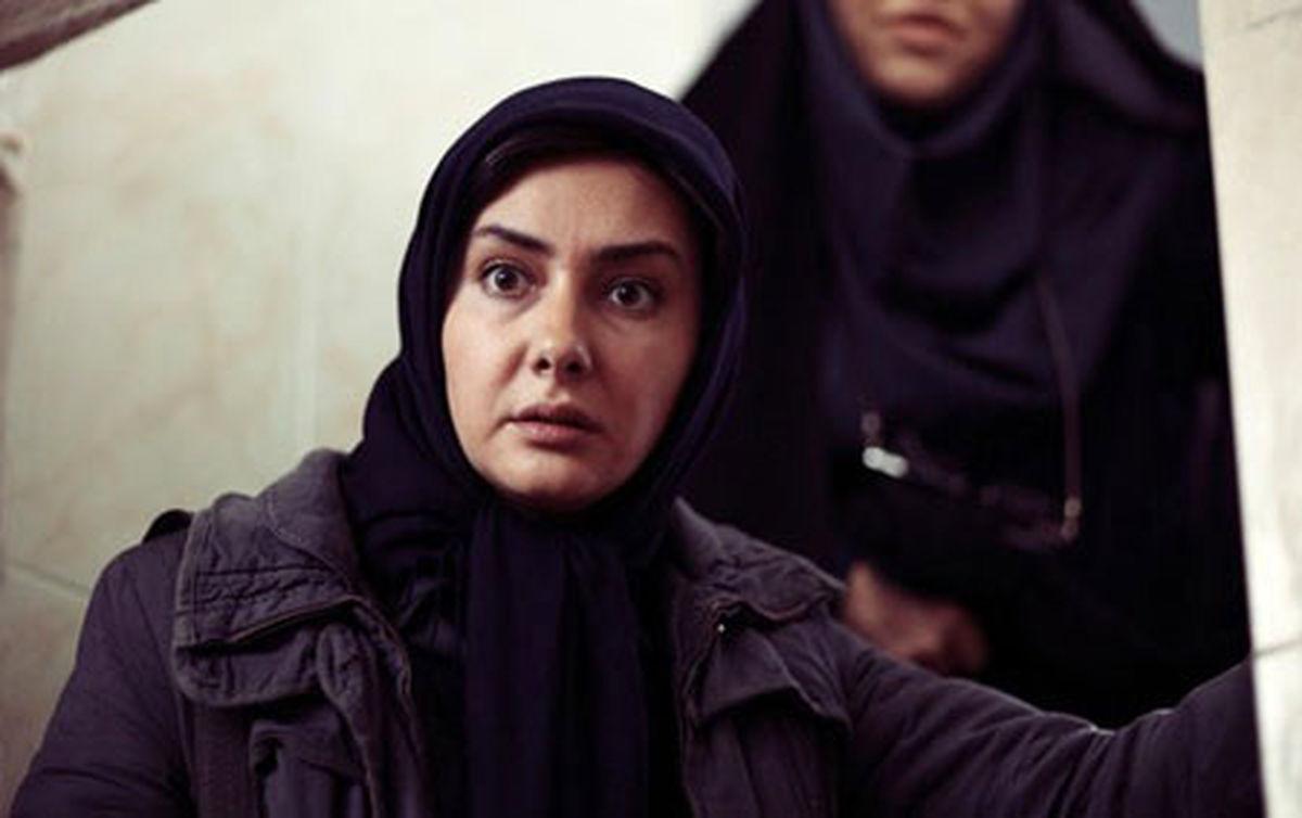 جدیترین عکس هانیه توسلی در حال گریم