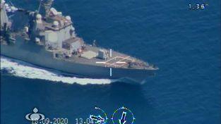 تصاویر رصد ناو هواپیمابر نیمیتز آمریکا در تنگه هرمز